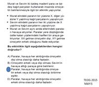8. Sınıf 1. ünite 1992-2015 Mayıs Arası TEOG ve Sınavlarda Çıkmış Sorular Sunusu