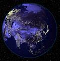 Dünya`nın Uzaydan Görünüşü