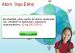 Atom in�a ediniz