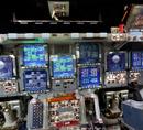 Discovery uzay mekiğinin kokpitinde 360 derece inceleme