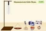 Dinamometre İle Kütle Ölçümü