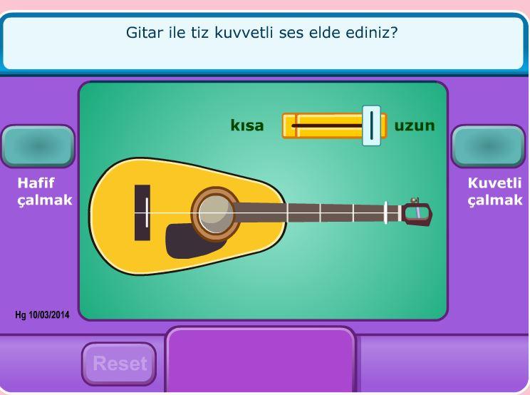 Gitardan Çıkan Sesler