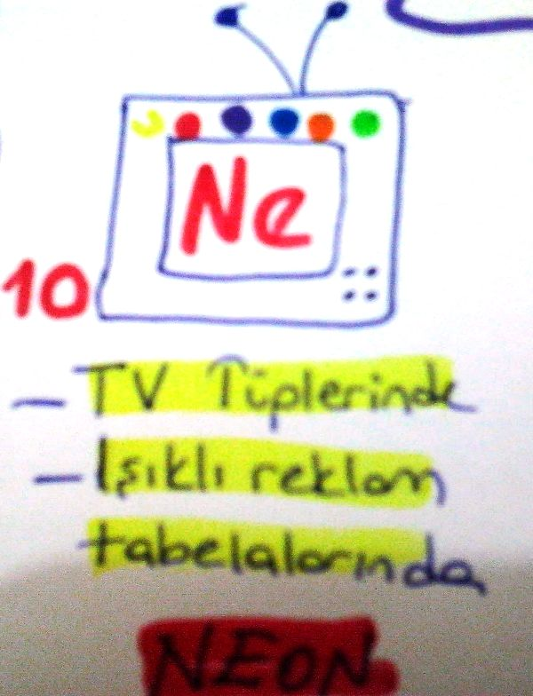 Neon Elementi