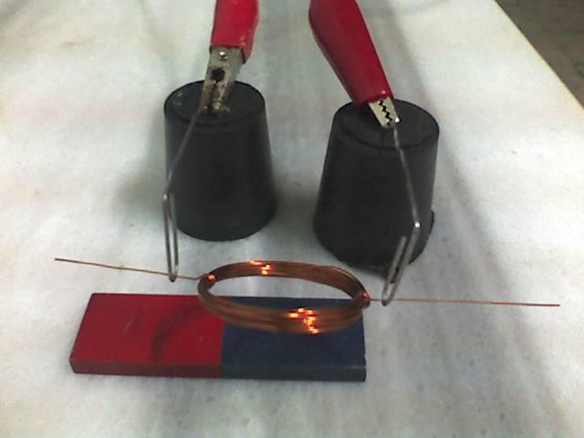Basit Elektrik Motoru Yapımı