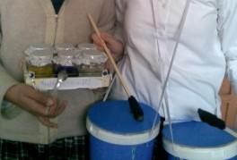 Müzik ve Fen konusuyla tasarlanan aletler
