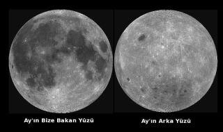 Ayın ön ve arka yüzü