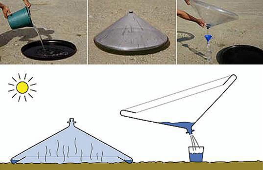 Temiz su eldesi için super buluş