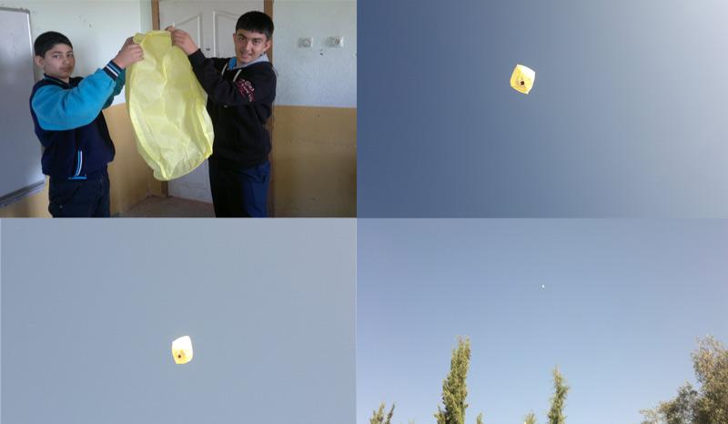 Sıcak Hava Balonu Yapıyoruz
