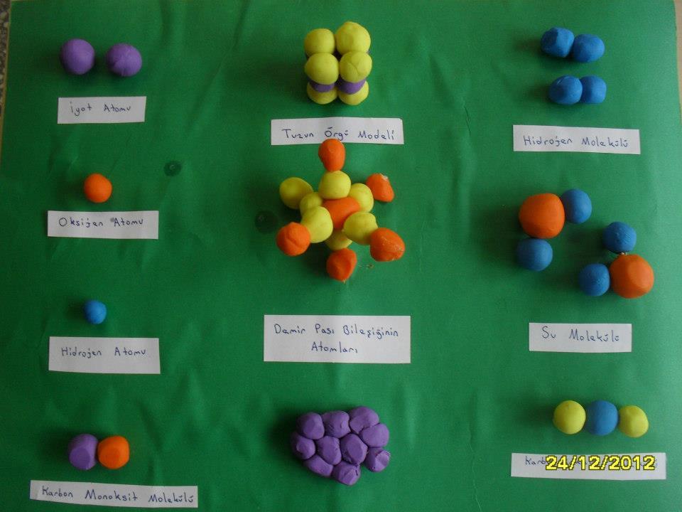 Çeşitli Moleküller
