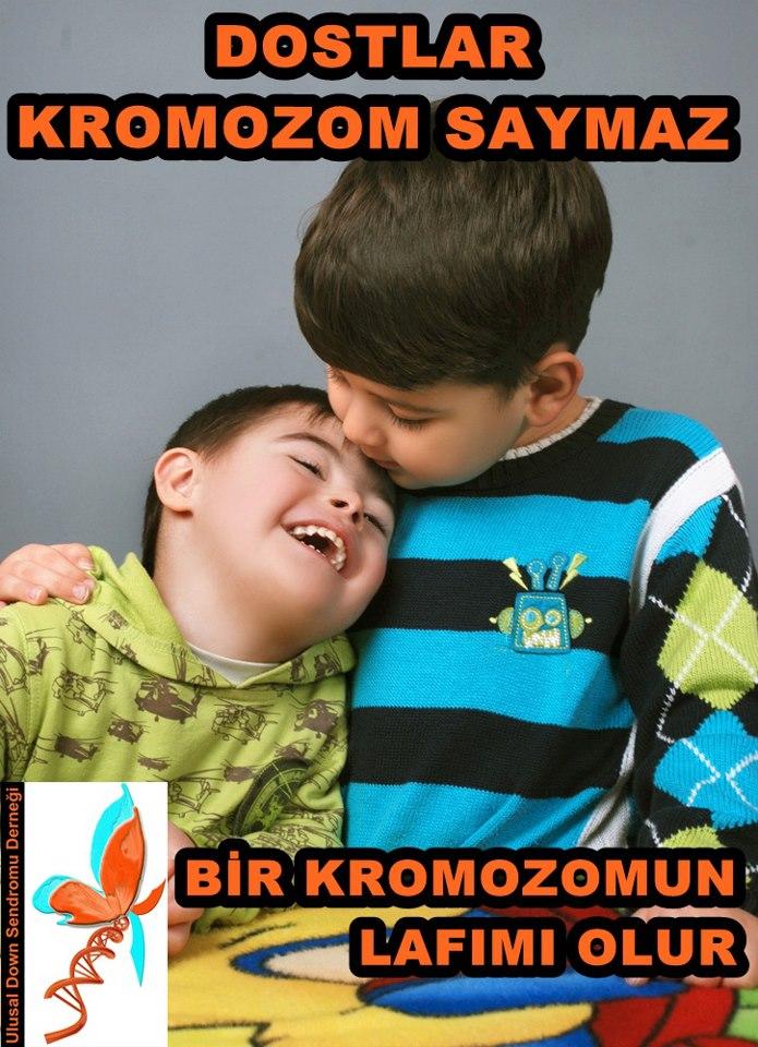 Down Sendromu bir hastalık değil genetik bir farklılıktır.