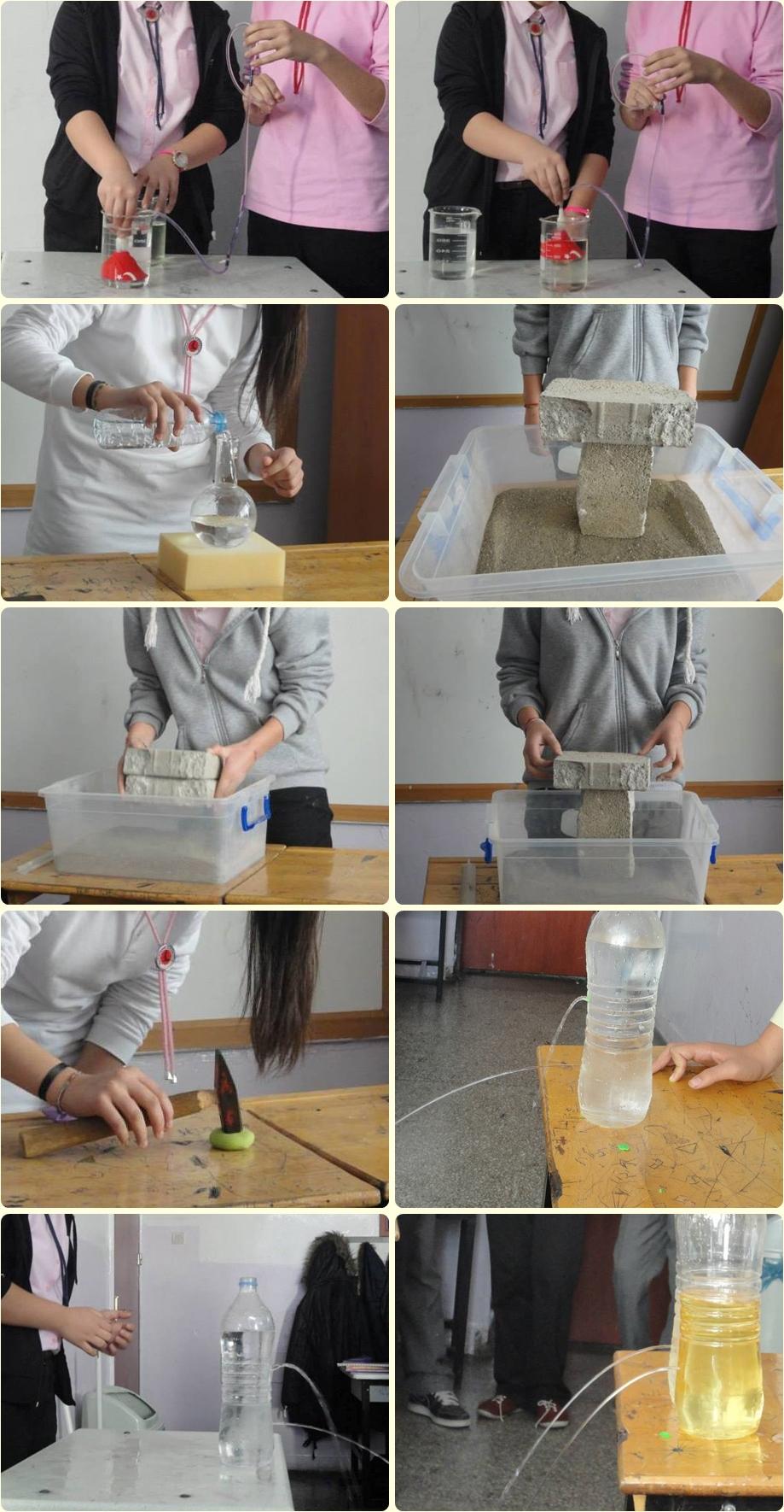 Katıların ve sıvı basıncının bağlı olduğu değişkenleri öğreniyoruz...