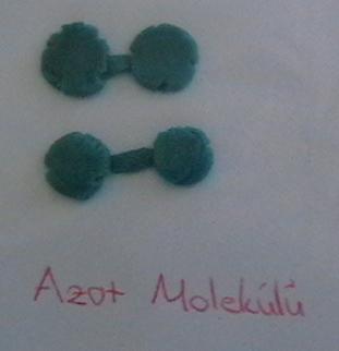 Azot Molekül Modeli