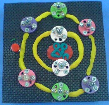 Işıklı Atom Modeli Yapımı