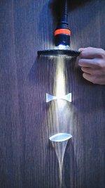 Merceklerin ışığı kırması