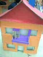 Isı Yalıtımı Yapılmış Ev Maketi