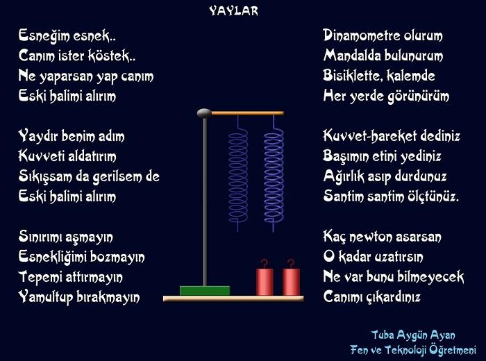 yaylar şiiri