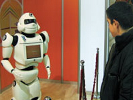 Türkiye`nin robotları görücüye çıkıyor