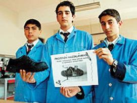 Öğrencilerden Mehmetçiği ısıtacak icat