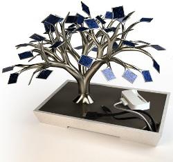 Elektronik Cihazlarını Şarj Eden Ağaç