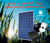 Ödüllü 2. Güneş enerjisi ile elektrik üretilmesi konulu resim yarışması
