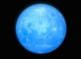 Hi� mavi bir Ay veya G�ne� g�rd���n�z oldu mu?
