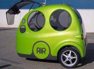 Artık moda havayla çalışan arabalarda.