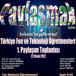 Fen ve Teknoloji Öğretmenleri 22 Ocak`ta Ankara`da
