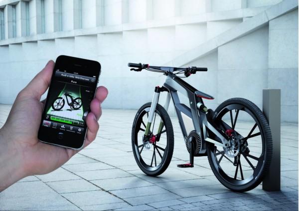 Audi Geleceğin Bisikletini Tasarladı