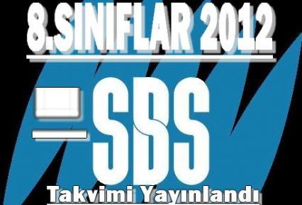 SBS Yerleştirme Takvimi