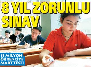 Yeni 8 yıl zorunlu sınav sistemi `BDS` hayırlı olsun