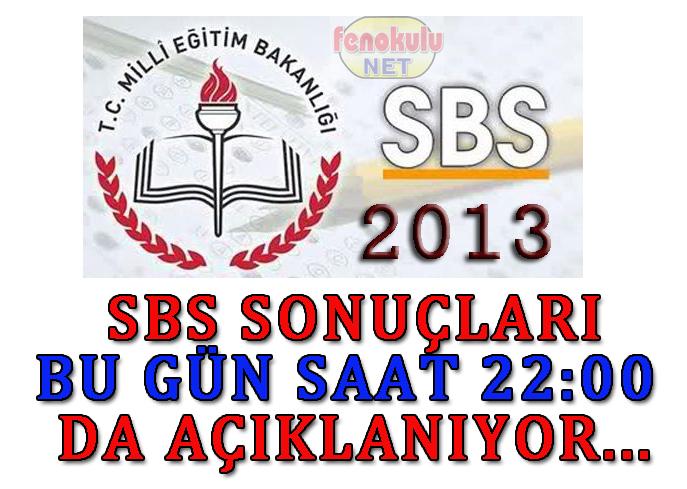 SBS sonuçları 22:00`da açıklanacak