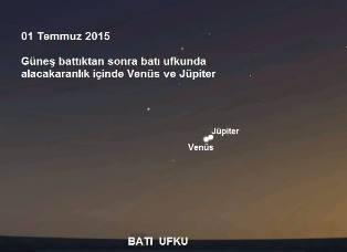 Fotoğraf Çekmeye Hazır Olun!  1 Temmuz 2015: Gökyüzünde Görsel Şölen