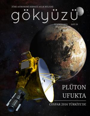 Türk Astronomi Derneği Aylık Bülteni Gökyüzü, Temmuz 2015 sayısı ile yayında