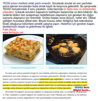 Isı Ünitesi Ders Kitabı İncelemesi. TEOG2 de çıkabilecek soruları içerir.