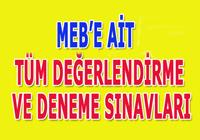 8. Sınıf MEB ilk dört üniteye ait tüm kazanım kontrol ve deneme sınavları