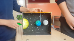 Güneş - Ay Tutulması Modeli