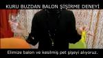 Kuru Buzdan Balon Şişirme