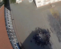Su Roketi üzerindeki kameradan okulumuz