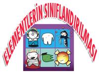 8.SINIF ELEMENTLERİN SINIFLANDIRILMASI 3