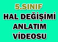 5.SINIF HAL DEĞİŞİMİ 1