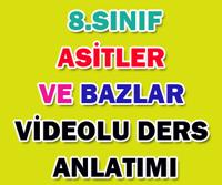8.SINIF ASİTLER VE BAZLAR 3