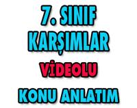 7.SINIF KARIŞIMLAR 1